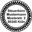 Colop Stamp Mouse 30 rund Muster