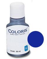 stempelfarbe blau 50ml coloris