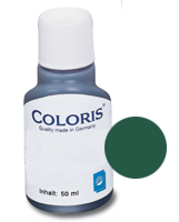 stempelfarbe grün 50ml coloris