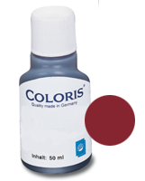 stempelfarbe rot 50ml coloris